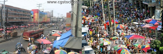 More and more people are shopping at Divisoria for a cheaper and bargained goods.(Photo source: pinoyprogress.com)