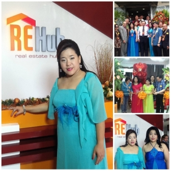 Dr. Mary Gaw So and the guests during the opening of REHub.(Photo courtesy of Dr. Mary Gaw So)