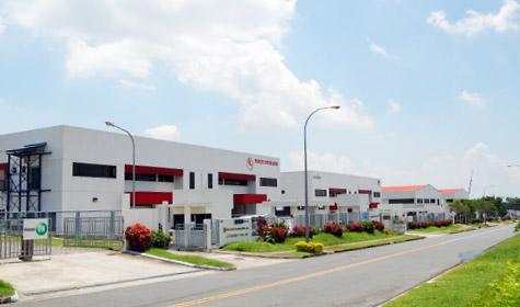 The Carmelray Industrial Park in Canlubang, Laguna. (Photo source: www.ascendas.com)