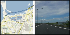 The Cavite Expressway, one of the infrastructure projects.