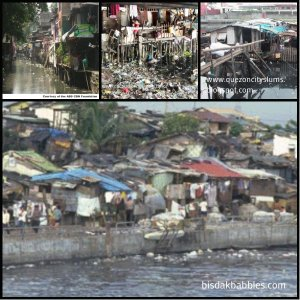 The slum dwellers near waterways are one of the culprits of garbages being thrown into waterways.
