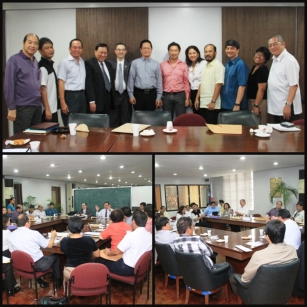 Representatives of different Real Estate organizations and PRBRES gathered together at PRC office to discuss the AIPO.