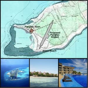 The planned site of Panglao International Airport. Panglao is a tourist haven with fine beaches and resorts such as the Bellevue Resorts Hotel.