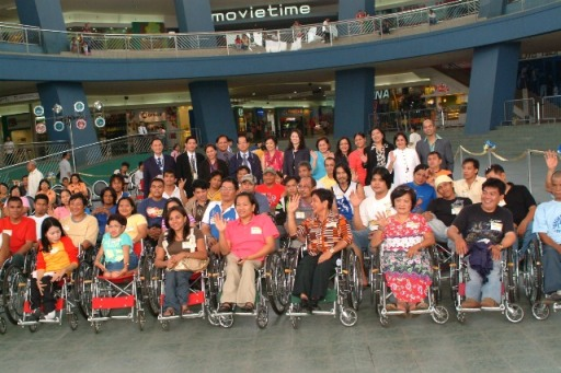 Filipinos with disabilities are counting on PWD Inc. to represent them in Congress.