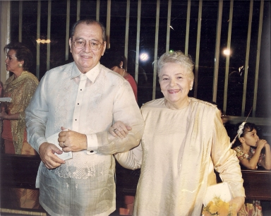 Ramon Cuervo, Jr. and Montserrat Calero.