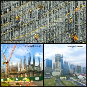 Construction boom in 2012 helped the economic growth of the country.