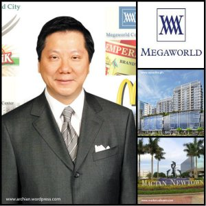 Mr. Andrew Tan of Megaworld and The Mactan Newtown project.