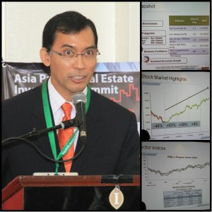 Mr. Hans Sicat, President & Chief Executive Officer of PSE, shared his inputs on the economic growth during the APREA Summit in 2012.