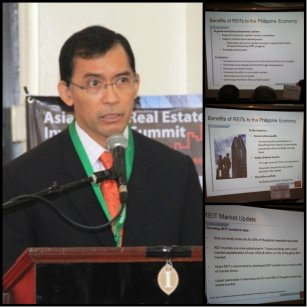 The benefits of REIT according to Philippine Stock Exchange CEO, Hans Sicat.