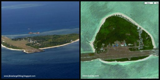 The Pag-asa Island, a part of Spratly Group of Islands, is where the Municipality of Kalayaan, Palawan is located.