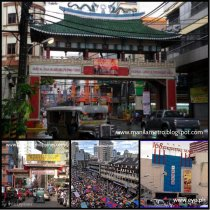 Binondo and Divisoria has many Chinoys shops are located.