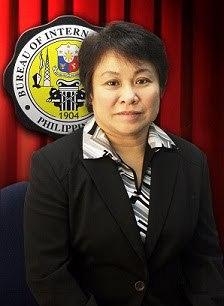 BIR Commissioner, Kim Henares.