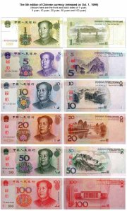 Will the Chinese renminbi will replace the dollar as the world's reserve currency in 10 to 15 years?(Photo source: www.chinatravelguide.com)