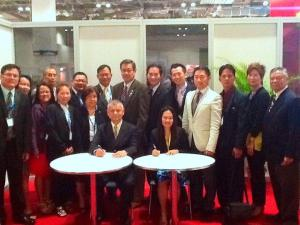 PAREB inks memorandum of understanding during the event with Taiwan Association of Real Estate Brokers for participation in the 2014 Real Estate Global Summit on 28 April - 01 May 2014.