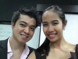 Mr. Khoa Bui and Ms. Eden April Alemania-Dayrit