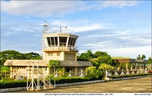 The San Jose Airport in San Jose, Occidental Mindoro.