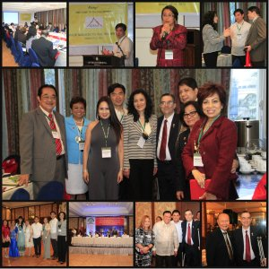 Scenes at CREBA-AAREA Forum and Meeting.