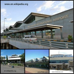 NAIA Terminal 3, Laguindingan Airport, Puerto Prinsesa Airportand Tacloban Airport.