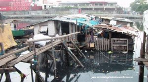 This typical floating house in Navotas has no access to toilets. And worse, the human wastes goes directly to the sea.