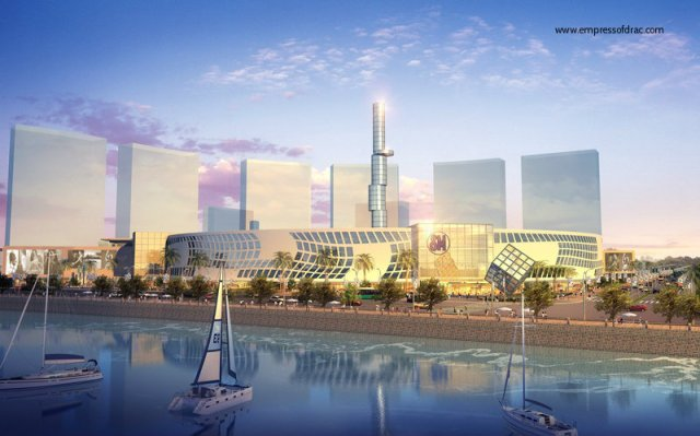 The architect design of soon-to-be-launched, SM Seaside City.