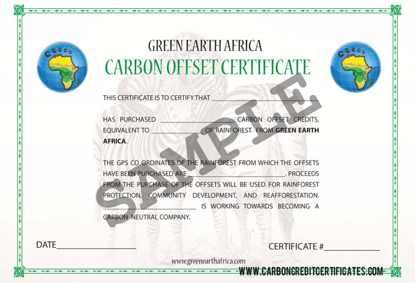 Cuervo property advisory page 18 carbon certificate sample yadclub Image collections