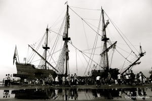 One of the ships used by Spaniards during the Manila Galleon years.
