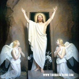 The Resurrection of our Lord is the central meaning of our salvation. Life, the author of life, overcomes death.  Jesus is our life, happiness, peace and hope for the next life.