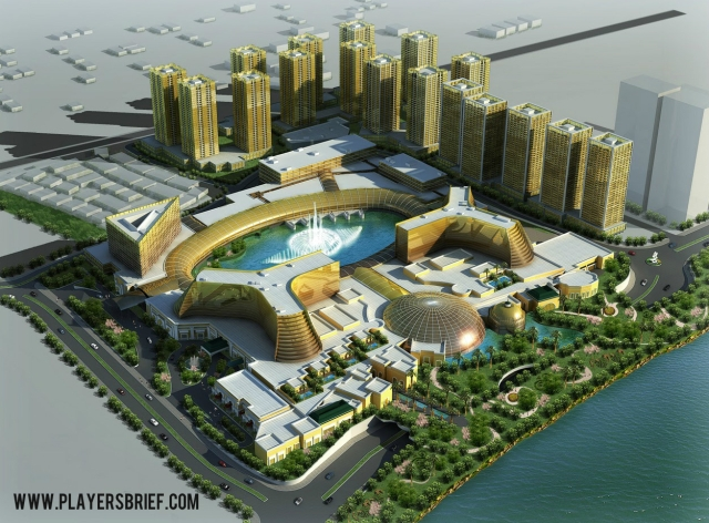 The planned PAGCOR Enterntainment City.