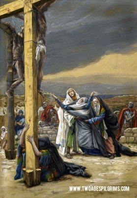 """One of the 7 Last Words of Jesus on Good Friday: """"Mother, behold your son. Son, behold your Mother."""""""