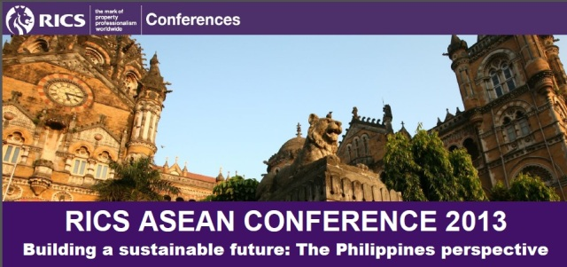 The RICS ASEAN Conference 2013.