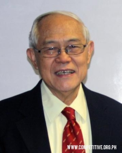 Dr. Jesus Estanislao, Founder of University of Asia and the Pacific and author of Author of Responsible Citizensip.