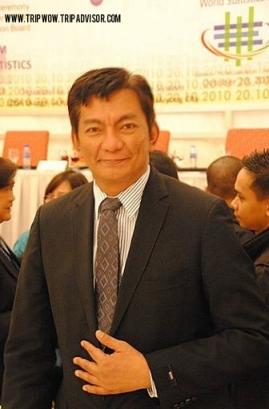 Albay Governor, Joey Salceda.