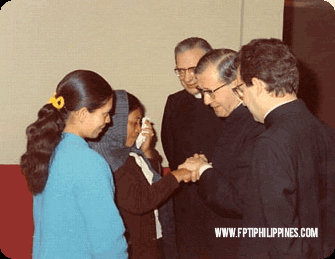 The Foundation for Professional Training, Inc. views St. Josemaria Escriva and his teachings about work and the ordinary life of a Christian, as their inspiration for their projects for service and women development.