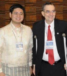Atty. Christopher Ryan Tan and Mr. Ramon CF Cuervo III