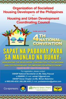 4th Annual Real Estate Convention at Davao, 2013