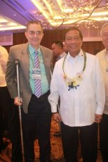 Mr. Ramon CF Cuervo III and Vice President Jejomar Binay, Chairman of Housing & Urban Development Coordinating Council