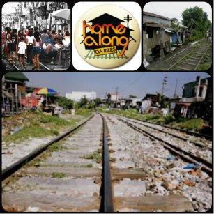 Informal Settlers beside Philippine National Railways (PNR) photo:tribes.tribe.net