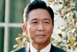 Former President Ferdinand Marcos, 10th President of the Philippines 6th President of the Third Republic 1st President of the Fourth Republic