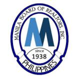 Latest logo of Manila Board of Realtors, Inc. - organized in the year 1938