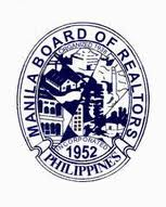 First logo of Manila Board of Realtors, Inc. was incorporated in the year 1952