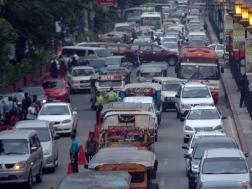 Traffic jam at Nagtahan Bridge, Manila photos: (newsinfo.inquirer.net)