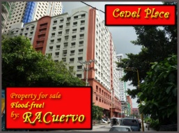 Cenel Place, a first class five star commercial and residential condominium prominently located in the heart of Malabon City.  Situated at 239 General Luna cor. Burgos St., Brgy. Concepcion, Malabon City it is easily accessible to local markets, schools and churches.