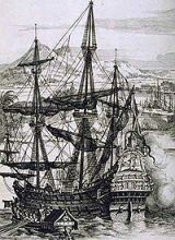 Spanish Galleon that travels Spain to Manila ports.