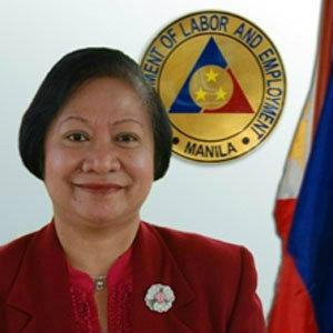 Secretary of Labor and Employment Rosalinda Baldoz