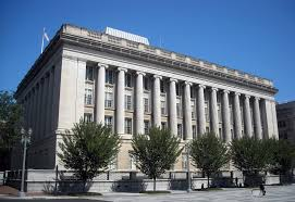 Federal Building, US Treasury, Washington City