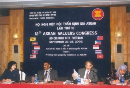 Real Estate Appraiser Federico C. F. Cuervo, Philippine Delegate to the ASEAN VALUERS Congress