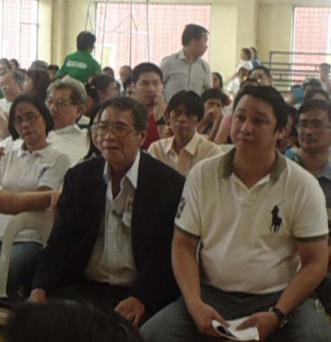 Atty. Monsod with Manila 5th District Councilor Ali Atienza