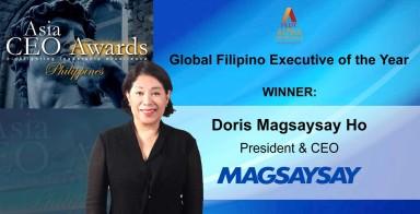 President and CEO of Magsaysay Maritime, Doris Magsysay-Ho