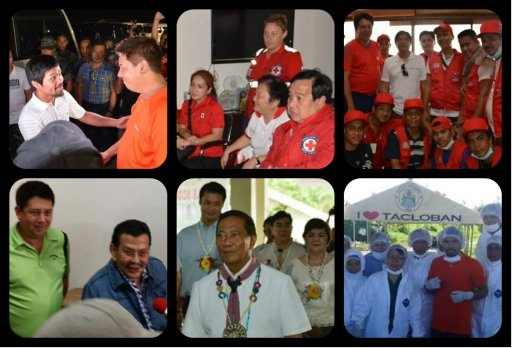"In solidarity, Former President and Manila Mayor Joseph Estrada extend true support for LGUs. ERAP's concern comes from a heart of compassion empathy and action.. ""No politics, just plain and simple generous help"""