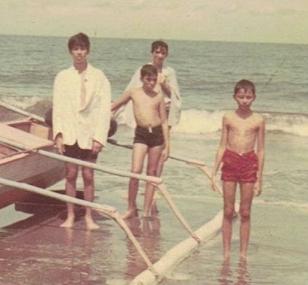 The little Beach Boys..